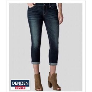 Levis, Cropped Skinny Jeans